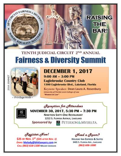 Fairness and Diversity Flyer