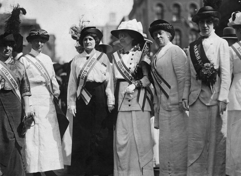 Suffragettes fought for a woman's right to vote